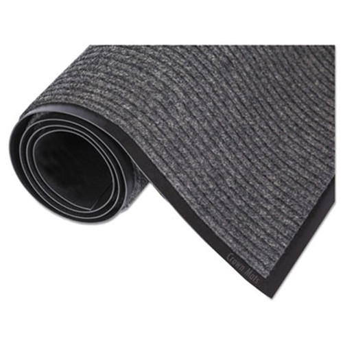 Crown Needle Rib Wipe & Scrape Mat, Polypropylene, 48 x 72, Gray (CRO NR46 CHA)