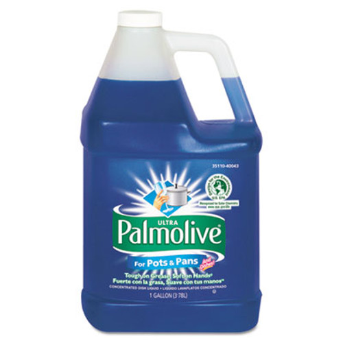 Ultra Palmolive Dishwashing Liquid for Pots & Pans, 1 gal. Bottle (CPC 40043)