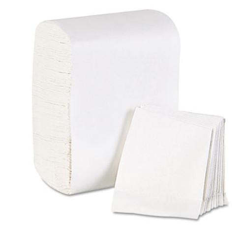 Georgia Pacific Professional Low Fold Dispenser Napkins, 7 x 12, White, 8000/Carton (GPC 392-02)