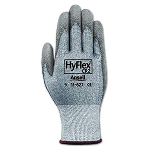 AnsellPro HyFlex 627 Light-Duty Gloves  Size 10  Dyneema Lycra Polyurethane  GY  12 Pairs (ANS1162710)