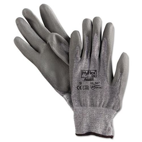 AnsellPro HyFlex 627 Light-Duty Gloves, Size 9, Dyneema/Lycra/Polyurethane, GY, 12 Pairs (ANS116279)