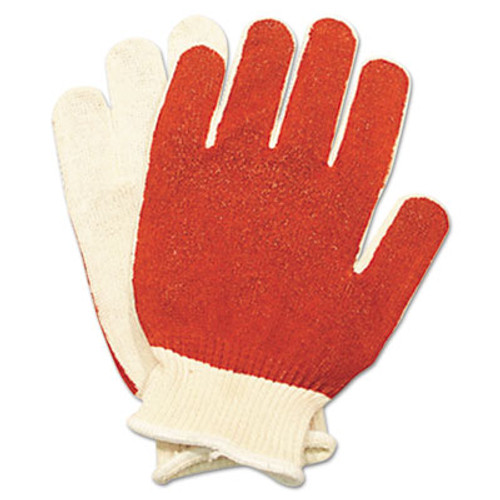 North Safety Smitty Nitrile Palm Coated Gloves  White Red  Medium  12 Pairs (NSP 811162M)