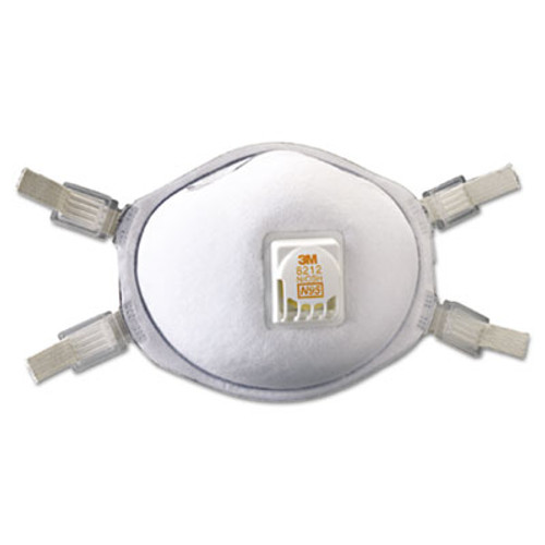 3M Particulate Welding Respirator 8212, N95, 10/Box (MCO 54141)