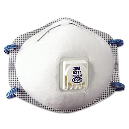 3M Particulate Respirator 8271  P95  10 Box (MCO 54285)