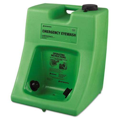 Honeywell Fendall Porta Stream II Eye Wash Station with Water Additive  16 gal (FND 320002300000)