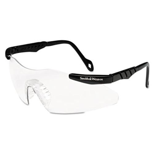 Smith & Wesson Magnum 3G Safety Eyewear  Black Frame  Clear Lens (KCC 19799)