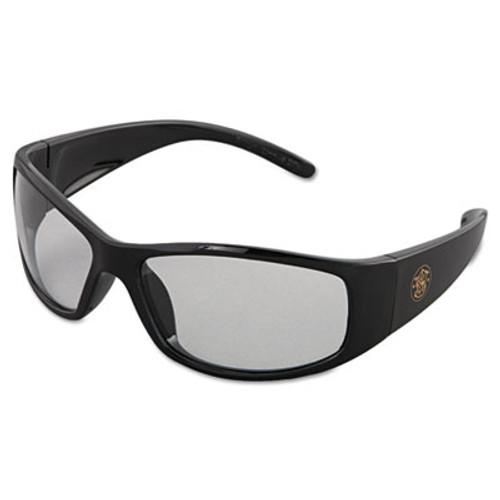 Smith & Wesson Elite Safety Eyewear  Black Frame  Clear Anti-Fog Lens (KCC 21302)