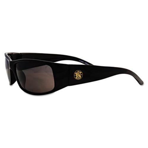 Smith & Wesson Elite Safety Eyewear  Black Frame  Smoke Anti-Fog Lens (KCC 21303)