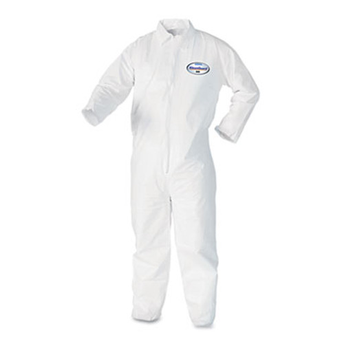 KleenGuard* A40 Coveralls, 2X-Large, White (KCC 44305)