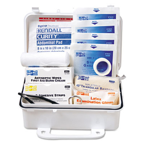 Pac-Kit ANSI  10 Weatherproof First Aid Kit  57-Pieces  Plastic Case (PKT6060)