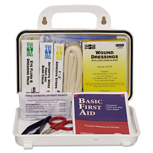 Pac-Kit ANSI Plus  10 Weatherproof First Aid Kit  76-Pieces  Plastic Case (PKT6410)