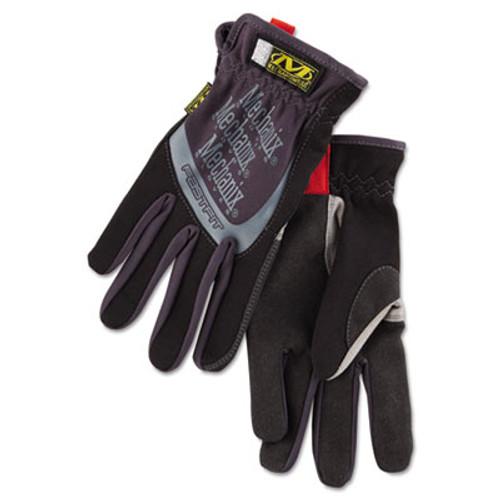 Mechanix Wear FastFit Work Gloves  Black  Medium (MNX MFF05009)
