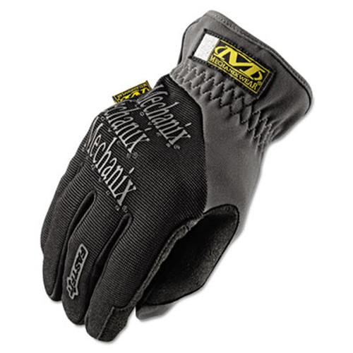 Mechanix Wear FastFit Work Gloves  Black Gray  Large (MNX MFF05010)
