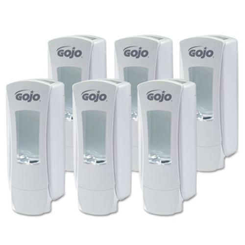 GOJO ADX-12 Dispenser  1250 mL  4 5  x 4  x 11 75   White (GOJ 8880-06)