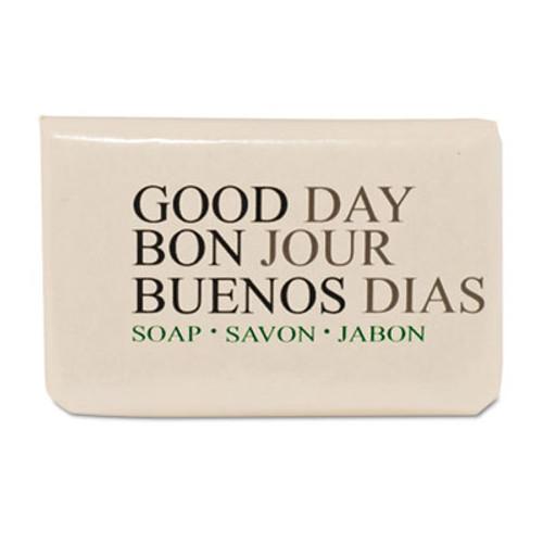 Good Day Amenity Bar Soap  Pleasant Scent    3 4  1 000 per carton (GTP 390075)