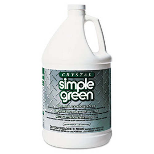 Simple Green Crystal Industrial Cleaner Degreaser  1gal  6 Carton (SMP 19128)