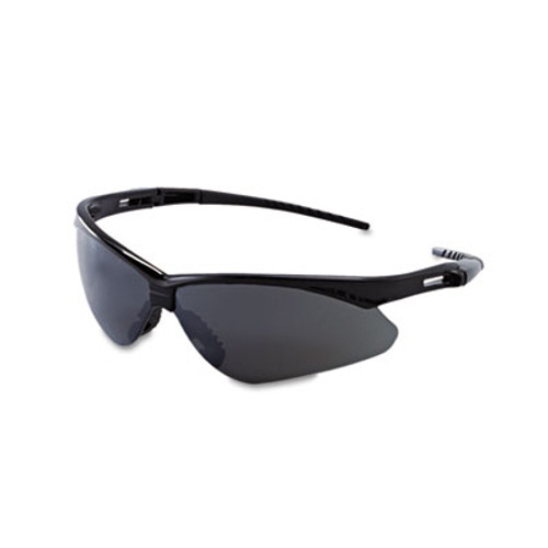 KleenGuard V30 Nemesis Safety Glasses  Black Frame  Smoke Lens (KCC 25688)