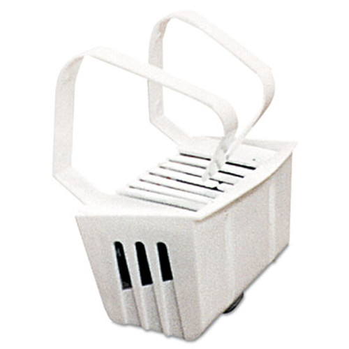 Big D Industries Non-Para Toilet Bowl Block  Lasts 30 Days  White  Evergreen Fragrance  12 Box (BGD 661)