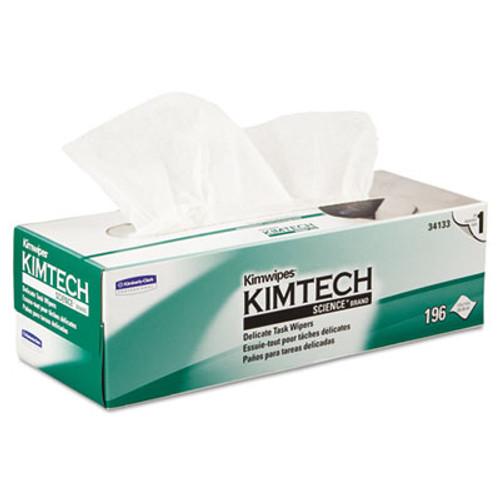 Kimtech Kimwipes Delicate Task Wipers  1-Ply  11 4 5 x 11 4 5  196 Box  15 Boxes Carton (KCC 34133)