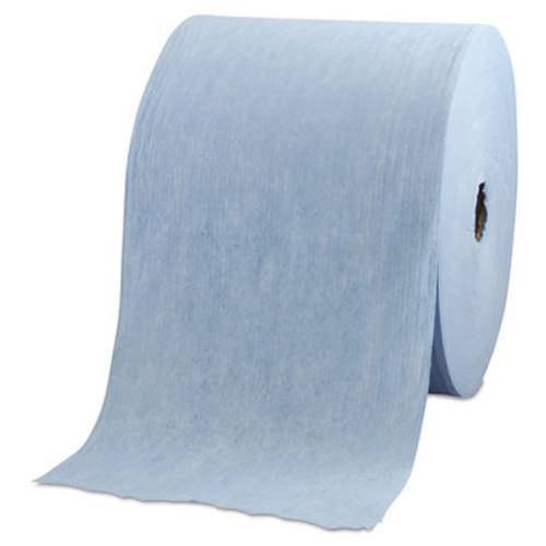 WypAll X60 Cloths  Jumbo Roll  12 1 2 x 13 2 5  Blue  1100 Roll (KCC 34965)