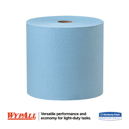 WypAll X60 Cloths  Jumbo Roll  12 1 2 x 13 2 5  Blue  1100 Roll (KCC 34965)