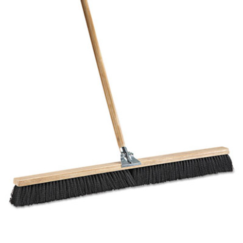 Boardwalk Floor Brush Head  36  Wide  Polypropylene Bristles (BWK 20636)