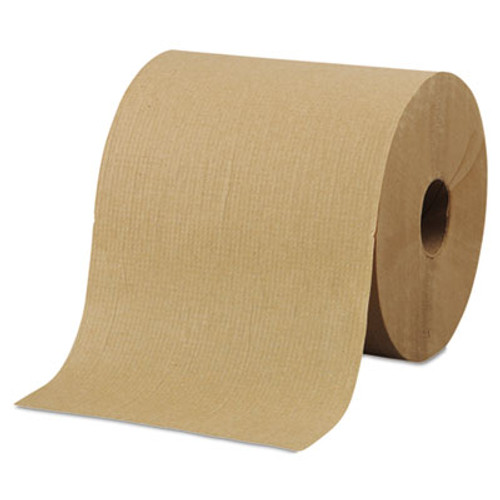 Morcon Tissue Morsoft Universal Roll Towels  8  x 800 ft  Brown  6 Rolls Carton (MOR R6800)