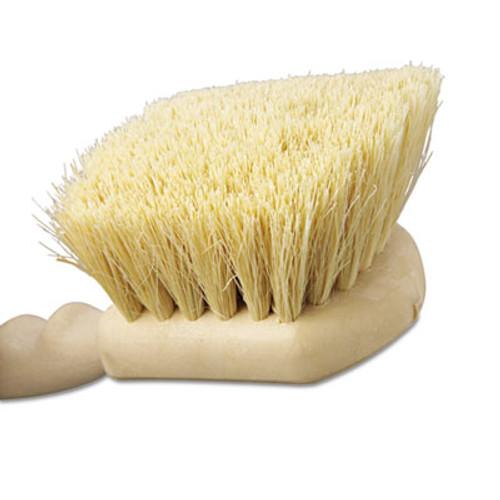 Boardwalk Utility Brush  Tampico Fill  8 1 2  Long  Tan Handle (BWK 4208)