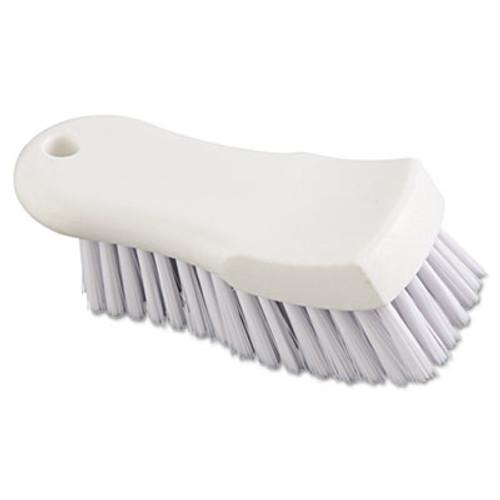 Boardwalk Scrub Brush  White Polypropylene Fill  6  Long  White (BWK FSCBWH)