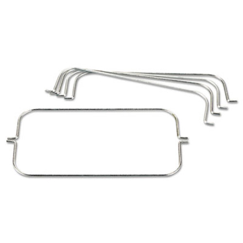 Rubbermaid Commercial Tri-Wire Waste Bag Holder Kit  For Rubbermaid Commercial Cleaning Carts  Steel (RCP 9T89-01)