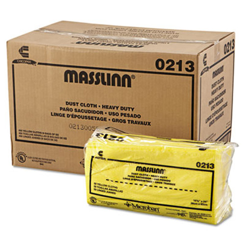 Chix Masslinn Dust Cloths  24 x 16  Yellow  400 Carton (CHI 0213)