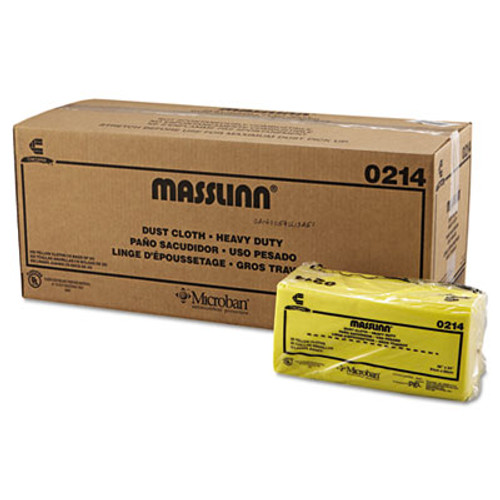 Chix Masslinn Dust Cloths, 40 x 24, Yellow, 250/Carton (CHI 0214)