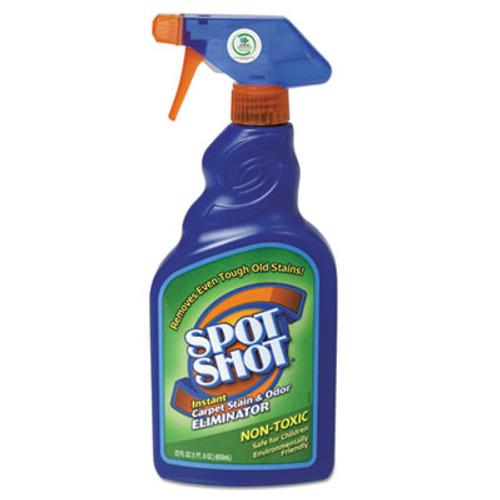 WD-40 Spot Shot Instant Carpet Stain   Odor Eliminator  22oz Spray Bottle  6 Carton (WDC 009716)