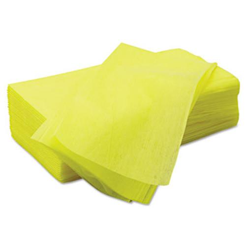 Chix Masslinn Dust Cloths  24 x 24  Yellow  150 Carton (CHI 8673)