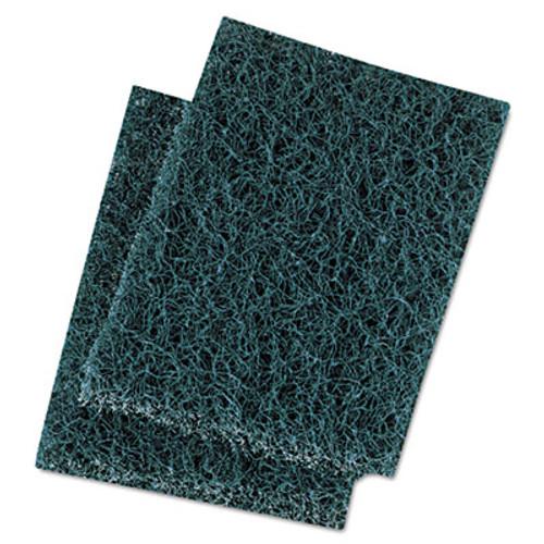 Boardwalk Extra Heavy-Duty Scour Pad, 3 1/2 x 5, Blue/Gray, 20/Carton (PAD 188)