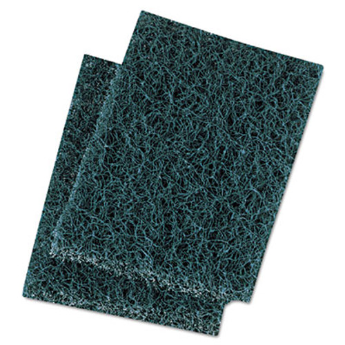 Boardwalk Extra Heavy-Duty Scour Pad  3 1 2 x 5  Blue Gray  20 Carton (PAD 188)