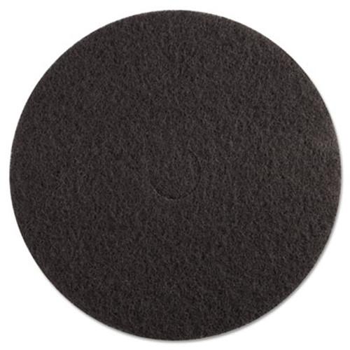 Boardwalk High Performance Stripping Floor Pads  20  Diameter  Grayish Black  5 Carton (PAD 4020 HIP)