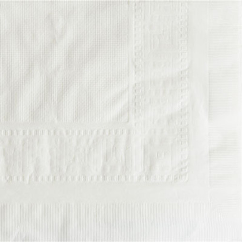Hoffmaster Cellutex Tablecover  Tissue Poly Lined  54 in x 108   White  25 Carton (HFM 210130)