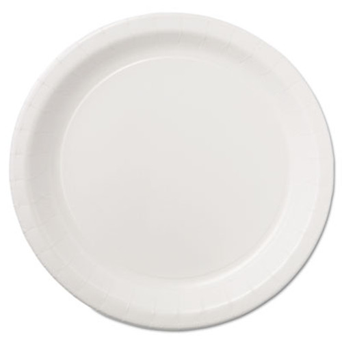 Hoffmaster Coated Paper Dinnerware  Plate  9   White  50 Pack  10 Packs Carton (HFM PL7095)