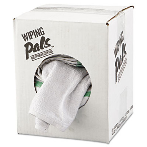 HOSPECO Counter Cloth Bar Mop  White  Cotton  60 Carton (HOS 536-60-5DZBX)