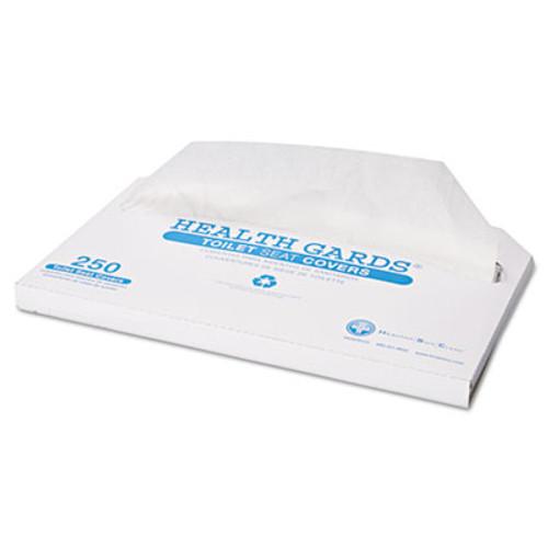 HOSPECO Health Gards Toilet Seat Covers  Half-Fold  White  250 Pack  4 Packs Carton (HOS HG-2500)