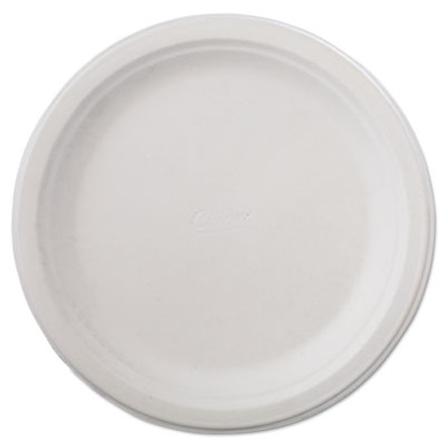 Chinet Classic Paper Dinnerware  Plate  9 3 4  dia  White  125 Pack  4 Packs Carton (HUH VAPOR)