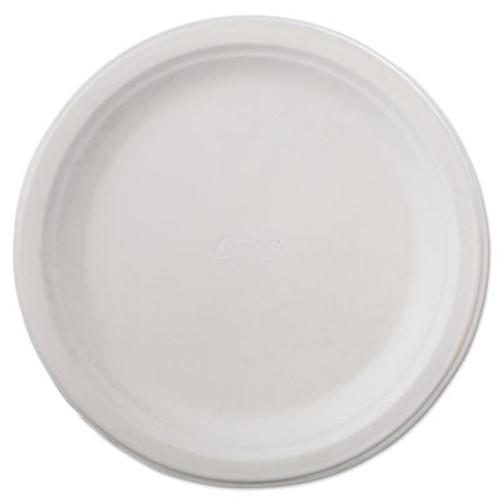 Chinet Classic Paper Dinnerware  Plate  9 3 4  dia  White  125 Pack  4 Packs Carton (HUH VAPOR)