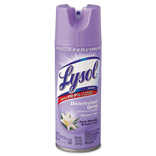 LYSOL Brand Disinfectant Spray  Early Morning Breeze  12 5 oz  Aerosol (REC 80833)