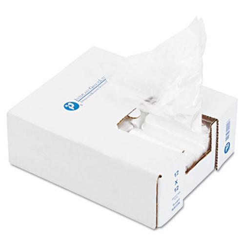 Inteplast Group Ice Bucket Liner, 6 x 6 x 12, 3qt, .5mil, Clear, 1000/Carton (IBS BL060612)