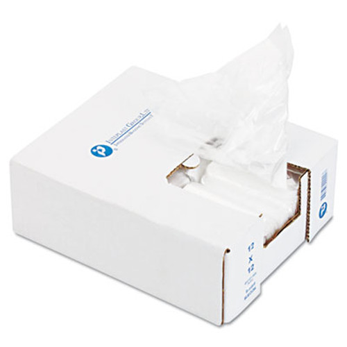 Inteplast Group Ice Bucket Liner Bags  3 qt  0 5 mil  6  x 12   Clear  1 000 Carton (IBS BL060612)