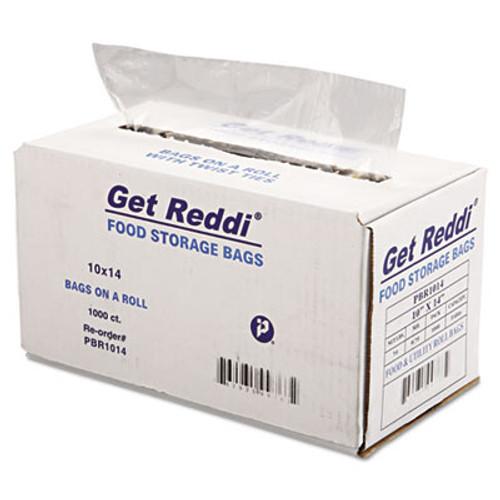 Inteplast Group Food Bags  0 75 mil  10  x 14   Clear  1 000 Carton (IBS PBR1014)