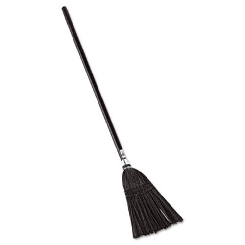 Rubbermaid Commercial Lobby Pro Synthetic-Fill Broom  37 1 2  Height  Black (RCP 2536)