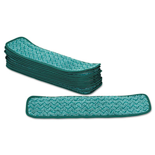 Rubbermaid Commercial Microfiber Dust Pad  18 5 x 5 5  Green (RCP Q412 GRE)