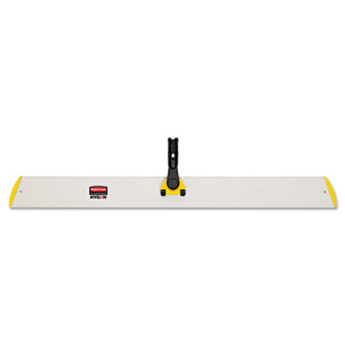 Rubbermaid Commercial HYGEN HYGEN Quick Connect Single-Sided Frame  36 1 10w x 3 1 2d  Yellow (RCP Q580 YEL)